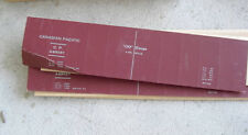 Vintage Oo Scale Boxcar Cardboard Side Panels Canadain Pacific