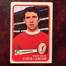 1968/69 A&BC Footballer Set CHRIS LAWLER #31 LIVERPOOL - VG/VG-EX