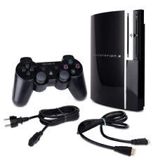 PS3 Fat 40 Gb CECHG04 Nero + Cavo di Alimentazione + HDMI + Controller con