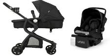 Car Seat Stroller Combo Travel System 3in1 Black Set Baby Infant Carriage Buggy