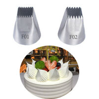 Pastry Tips Cake Decorating Icing Piping Nozzles Baking Mold Ice Cream Tool