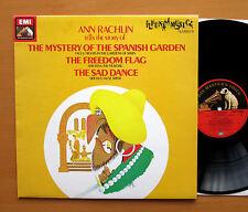 Ann Rachlin The Mystery Of The Spanish Garden etc NEAR MINT EMI FWM 1545481
