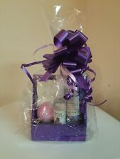 All occassion Woman Gift Basket Moon Stone Spa Bath & Body Work  Purple