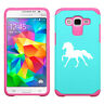 For Samsung Galaxy Core / Grand Prime Shockproof Impact Hard Case Cover Horse