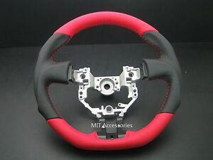 SCION FR-S SUBARU BRZ Toyota GT86 FT 86 sport steering wheel genuine leather
