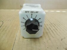 Potter & Brumfield Time Delay Relay CKB-38-71067 120 VAC 10 A Amp .1-10 Sec Used