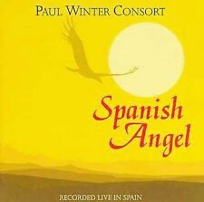 Spanish Angel (Recorded Live in Spain) by Paul Winter CD Nice! Free Ship #JP03