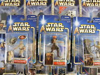 STAR WARS SAGA 2002 - 2003 CARDED FIGURES - MANY TO CHOOSE FROM ALL MOC ! C3