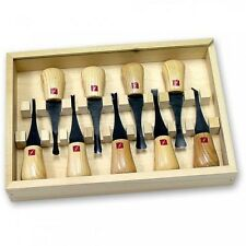Flexcut FR405 Deluxe Palm Set 9pc Carving Tools Carver 211045