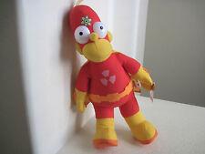 "18"" The Simpsons HOMER SUPER HERO Plush Doll"