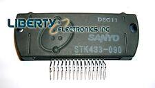 New Sanyo Stk433-090 2-channel Ab audio power Ic