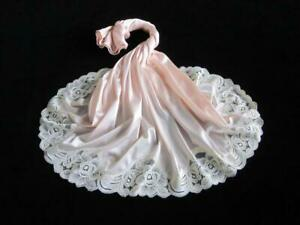 Vintage Waist Slip Vanity Fair XS Silky Pink Antron III Nylon Ivory Lace Hem