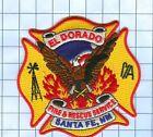 Fire Patch - EL DORADO SANTE FE NM