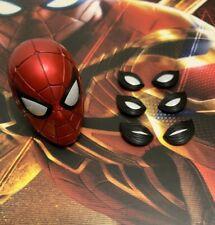 Hot Toys mms482 Avengers Infinity War IRON SPIDER Figure 1/6 MASKED HEAD
