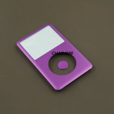 purple faceplate housing cover button lens for ipod 6th 7th classic 80/120/160gb