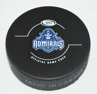 MILWAUKEE ADMIRALS Sharks AHL Hockey Team Logo OFFICIAL GAME PUCK NEW Loose
