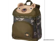 GYMBOREE BEAR BACKPACK CAMO BAG NWT