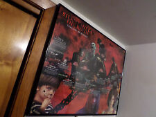 Rare Silent Hill Metal Framed Poster 28 1/2 x 21 1/2