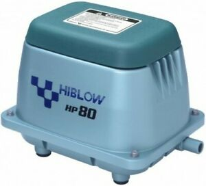 HI BLOW HP80 AIR BLOWER AIRATOR SEPTIC AWTS POND AIRATION