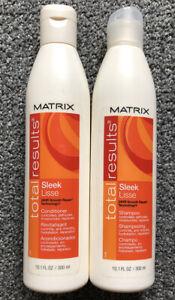 Matrix Total Results Sleek Lisse Shampoo & Conditioner 10.1 oz (2 Pack) $8.99 EA