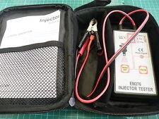 EFI Gasolina Inyector Ensayador 12v sistema diagnóstico Problemas INCLUYENDO