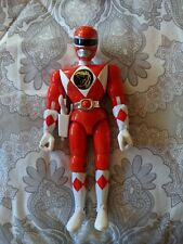 "Power Rangers 1993 8"" Red Ranger Action Figure COMPLETE"