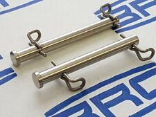 KTM Brake Pins - Front & Rear. Stainless Steel With clips. Aussie Made +Sticker.