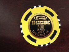 New ListingNice 500.00 Casino Chip From Binions Horseshoe Casino In Lv