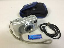 Sony Cyber-shot DSC-W1 5.1MP Digital Camera  Silver w/ Card, Carrying Case Cable