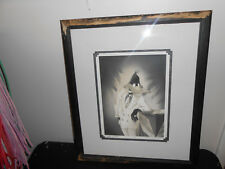 Nice Signed Framed and Matted Daffy Duck Series Canvas Portrait 277of 500Limited