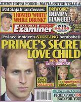 National Examiner Magazine February 20 2012 Prince William Drew Carey Pat Sajak