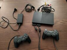 ps2 lite console play station controller completa