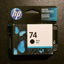 HP 74 Black Ink EXP 12/2020