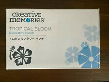 Creative Memories Tropical Bloom Decorative Punch Exclusive punch Retired