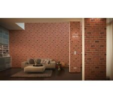 Red Brick Wallpaper -Decora Natural -Faux Textured Embossed A/S Creation 7798-16