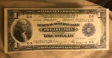 1918 Philadelphia district  federal Reserve bank note