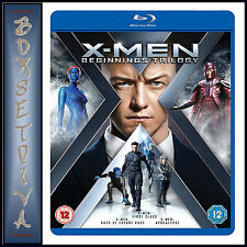 X MEN BEGINNINGS TRILOGY - 3 FILMS  **BRAND NEW BLU-RAY***