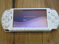 Sony PSP 3000 console Pearl White Japan B400