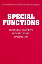 Special Functions: By Andrews, George E., Askey, Richard, Roy, Ranjan