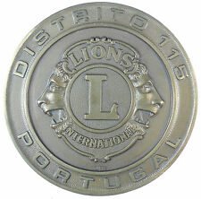 Portugal LIONS CLUB INTERNATIONAL District 115 bronze 80mm