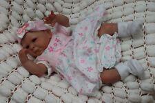 """Muñeca Bebé Reborn Preemie 16"""" prematuro Tayla por el artista de 9yrs Marie sunbeambies"""