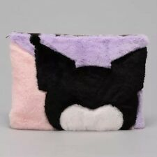 Limited Edition Sanrio My Melody Hello Kitty Kuromi Faux Fur Fluffy Clutch