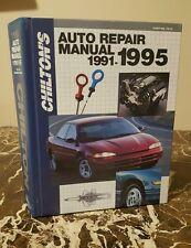Chilton's Auto Repair Manual 1991-1995 Edition Hardcover Part # 7915