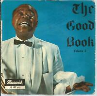 45 TOURS 4 TITRES/ LOUIS ARMSTRONG  THE GOOD BOOK   VOL 2    B0