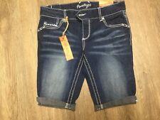 Amethyst Jeans Mid Rise Cuffed Shorts size 5 regular