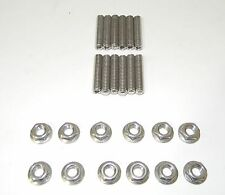 EDELBROCK STAINLESS STEEL Tri-Power CARB STUD KIT NEW