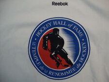 Reebok Hockey Hall Of Fame Sports Fan Apparel White Cotton T Shirt Size S