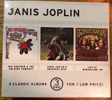 Janis Joplin: 3 Classic Albums, UNOPENED box set of CDs