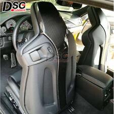 Carbon Fiber Seat Back Backseat Trim Covers 4 PCs /Set For BMW F80 M3 F82 M4