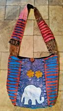 Women's Tie-Dye Embroidered & Applique Shoulder Bag/Handbag/Crossbody Bag Purse